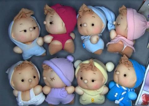 куколки из чулок